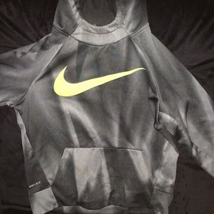 Youth boys Nike hoodie large